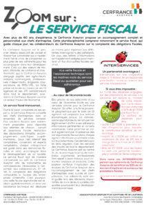 2016 - 03 - Publi reportage LVP - zoom sur le service fiscal