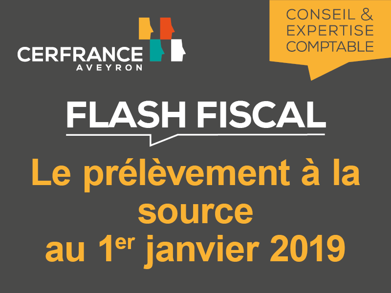Flash Fiscal - Avril 2018