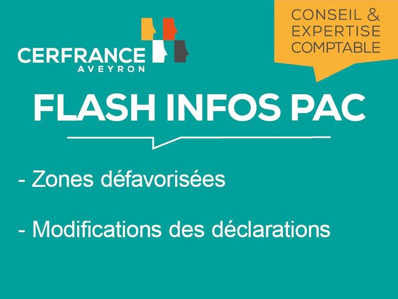 Flash Infos PAC - Juin 2018