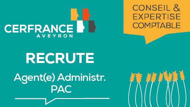 Cerfrance Aveyron recrute des agents(es) pour la PAC