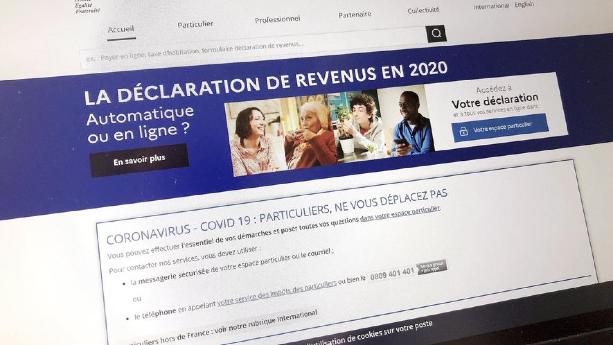 Déclaration de revenu 2020, quelques précisions